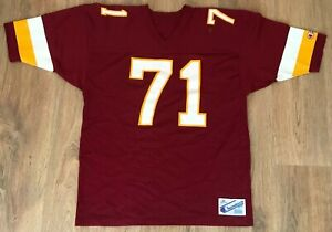 Washington Redskins #71 RARE vintage 80s Champion Football NFL jersey XL