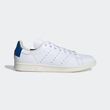 Adidas Originals Stan Smith Cuero-Blanco/Azul-EE5788-Reino Unido 8, 9, 9.5, 10