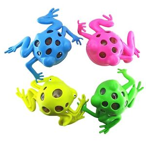 Frog Squeeze Toy Stress Ball Water Orbs Orbeez Animal Toy