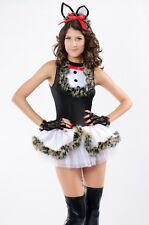 Sexy Donna Adorabile baciare Kitty Kat Costume Mini Abito