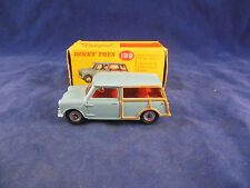 Dinky toys 199 Austin Seven Countryman in Light Blue Original & Superb