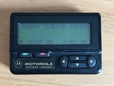 Pager Motorola Advisor Linguist, FIRE PAGER, HOSPITAL