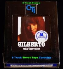 8 Track -Astrud Gilberto with Stanley Turrentine-1971 CTI Jazz-SEALED!