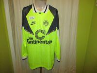 "Borussia Dortmund Nike Langarm Trikot 1990/91 ""Die Continentale"" Gr.XL TOP"