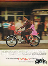 JUNE 1965 HONDA  PLAYBOY ORIGINAL LAMINATED AD ART