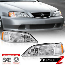 1999-2001 Acura TL Front LEFT RIGHT Front FACTORY STYLE Headlight Headlamps PAIR