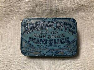 c1920s Larus & Brothers Co. Edgeworth Extra High Grade Plug Slice Tobacco Tin