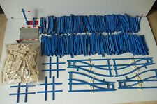 Lot Accessoires Train Lego vintage / 400 rails, 3 croisements, 4 aiguillages...