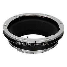 Fotodiox Objectivement Adaptateur Mamiya 645 Lentille Pour Canon EOS Caméra