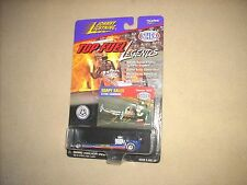JOHNNY LIGHTNING TOP FUEL LEGENDS SOAPY SALES DRAGSTER, SEALED, RARE !