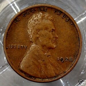 1928-P United States Lincoln Wheat Cent.....#6807
