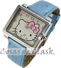 Reloj HELLO KITTY azul celeste blue watch AE32
