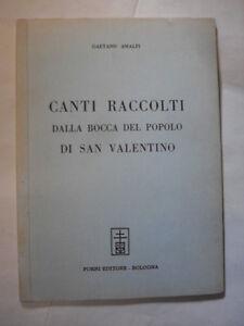 AMALFI - CANTI RACCOLTI DALLA BOCCA DEL POPOLO DI SAN VALENTINO - ED.FORNI