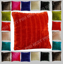 Polyester Striped Decorative Cushion Covers