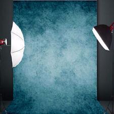 5x7ft Vintage Dunkelblau Fotografie Hintergrund Fotohintergrund Foto Studio NEU