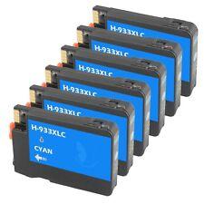 6 Cyan 932XL 933 XL Ink Cartridge for HP Officejet 6100 6700 6600 7100-New Chip