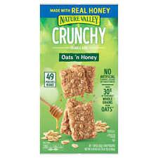 🔥 Nature Valley Crunchy Granola Bar, Oats 'n Honey, 1.49 oz, 49-count 🔥
