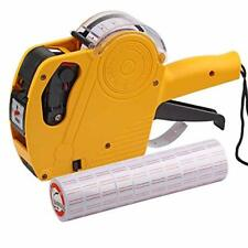 Asibt Mx5500 Eos Yellow 8 Digits Pricing Gun Kit with 7,000 Labels & Spare Ink