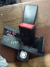 AUDI A4 B6 REAR SEAT BELT STALK / BUCKLE BLACK COLOUR FITS 02-06