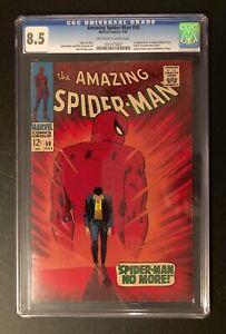 Amazing Spider-Man 50 CGC 8.5