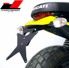 Portatarga Ducati Scrambler  400/800 + luce targa