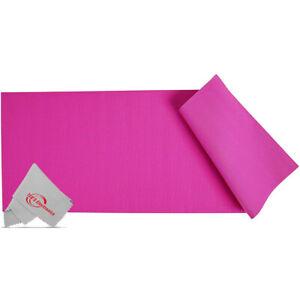 Vivitar PFV8277 5mm High Density Foam Exercise Roll Up Mat for Yoga