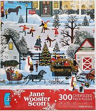 CEACO® 300pc JANE WOOSTER SCOTT • TRAFFIC JAM • PUZZLE Jig Saw USA MADE