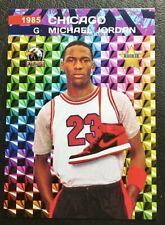 1985 MICHAEL JORDAN Nike Air Jordans Prism #23 Shoe Promo Rookie Only 1000 Made!