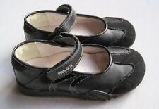 PRIMIGI Little Girls Sz 9 Black Leather & Suede Mary Jane Shoes EUC Euro 26