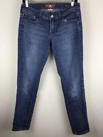 Lucky Brand Sz 4 / 27 Blue Medium Wash Charlie Skinny Jeans
