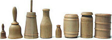 Crafters Cargo Shapes Wood Miniatures Assortment...24 Pieces