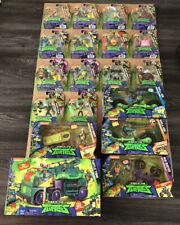 HUGE LOT NEW Rise of Teenage Mutant Ninja Turtles 14 Figures 5 Vehicles (Tank)