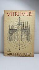 Vitruvius: De Architectura, Blom 1968