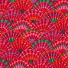 Fat Quarter Kaffe Fassett Spring 2017 - Paper Fans RED Quilt Fabric