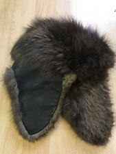 Authentic Beaver Fur Trapper Hat Handmade In USA Small 6 3/4- 7?