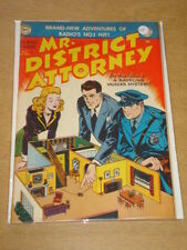 MR DISTRICT ATTORNEY #17 VF (8.0) DC COMICS SEPTEMBER 1950 **