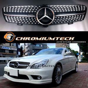 Black Diamond GRILLE for 2004-2008 Pre-Facelift MERCEDE W219 CLS
