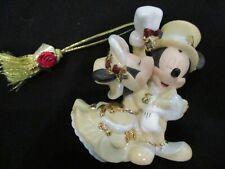 Disney Parks Victorian Mickey and Minnie Mouse Under Mistletoe Figurine