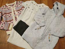 Gymboree Lot 4 PCS Girls Size 7 Sweater Dress Cardigan Jacket Leggings
