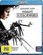Edward Scissorhands Blu Ray - & Johnny Depp Tim Burton Winona Ryder