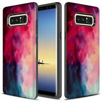 For Samsung Galaxy Note 8 Case, Impact Dual Layer Shockproof Bumper Case