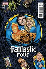 Fantastic Four #645 Golden Connecting Variant 2015 Marvel Comics Vf+