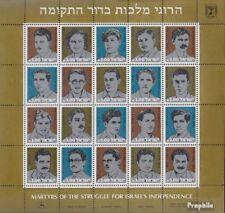 israël 897-916 zd-feuille (complète edition) neuf avec gomme originale 1982 mart