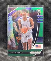 James Wiseman #2 Rookie RC Green Prizm 2020-21 Panini Prizm Draft Picks