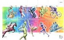 Australia 2000 Centenary of Women in Olympic Games  Sheetlet of 10 stamps  new