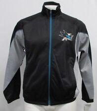 San Jose Sharks NHL Men's Full Zip G-III Track Jacket Black Gray M L XL 2XL