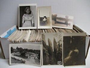 Box #4 - 500+ Real Photo Postcards