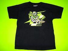 THOR MX MOTOCROSS PRO CIRCUIT YOUTH SIZE MEDIUM BLACK & GREEN T SHIRT T-SHIRT