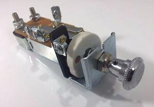 Universal Chrome Headlight Switch for 1947-1959 Chevy GMC Pickup Truck