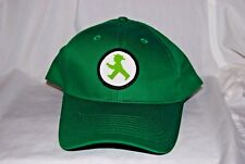 Ampelmännchen Hat, East Berlin Germany LITTLE GREEN MAN Strapback, Green/White